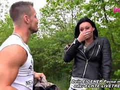 Tv Star Bodo Fickt eine Schlampe Outdoor