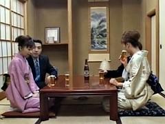Asiatique, Tir de sperme, Groupe, Hard, Japonaise