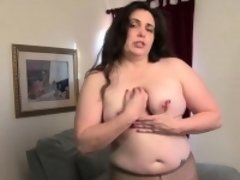 USAwives Charlie Fox Seductive Chubby Solo Action