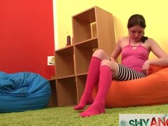 Teen Angela Playing with Her Pussy