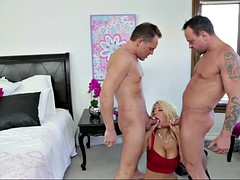 cheating whore wife dp