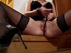 carla cox horny girl loves the taste of cum