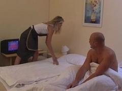 Maid Gets Bum Fucked