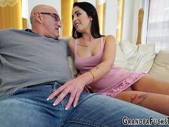 Teen rammed by grandpa
