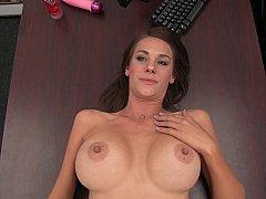 Swollen tits mom displays her sexy nipples