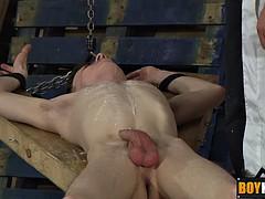 tyler cornea loves sucking cock and drip wax drip on the nipples
