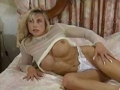 Bodybuilding Grown-up Females large clit boobs rectal muscle gal