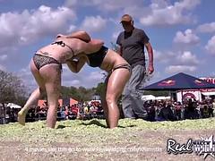 Girls Coleslaw Wrestling
