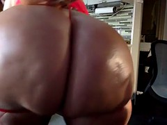blonde pawg teases with sensual body dance