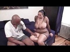 Thick latina with blackman