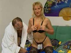 Molten German Mature Duo Hookup