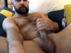bear cam masturbation