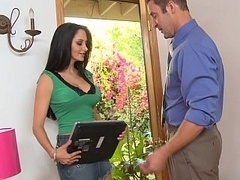 My bigtitted neighbor Ava