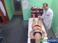 FakeHospital Hot Spanish patient gets fucked hard and creampied