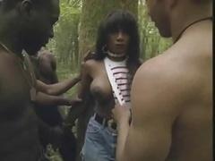 Anal, Negro, Doble penetracion, Ébano, Francés, Grupo