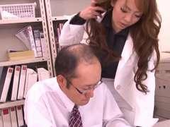 Hitomi Tanaka. Office fuck-fest.