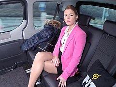 Autobús, Coche, Checa, Europeo, Sexo duro, Falda, Bajo la falda