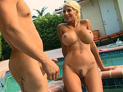 Puma Swede approves younger cock