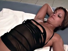 Crazy foursome with squirting mistresses