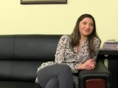 Fake agent having sex on leather bigbed