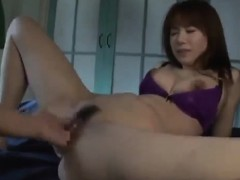 Asiatisch, Fingern, Behaart, Japanische massage, Titten