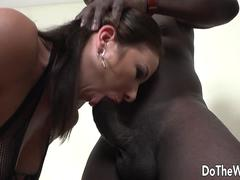 White wife black cock anal
