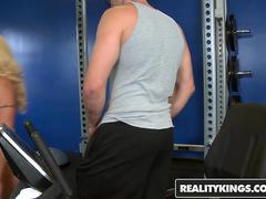 RealityKings - Big Tits Boss - Gina West Jmac Big Tits Boss Ginas gym was lo - Business Affair