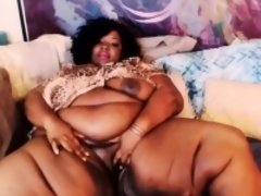 Mooie dikke vrouwen, Zwart, Zwart, Masturbatie, Alleen, Speelgoed