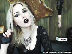 Cute Goth Girl Come Help Me Get Her Undressed...