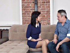 Dirty Flix - Seduced by mature porn agent