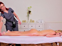Massage, Pornostars