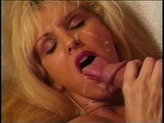 Aged girl in red dong & ramrod fucked
