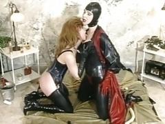 German Rubber Women taking turns