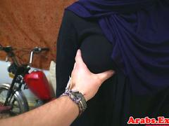 Arab babe throathed and fucked balls deep
