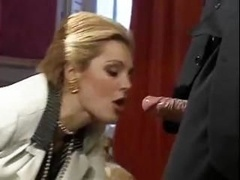 1st Totally hardcore flicks from nice-looking classic porn model Laure Sainclair