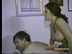 Bondage domination sadisme masochisme, Femme dominatrice, Strapon, Rétro ancien