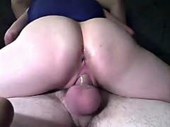 Big hot cum loads deposited into tight fuck holes
