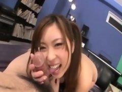 Japanese POV sex along beautiful Ami Kurosawa