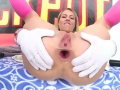 deep anal pounding makes zoey monroe's ass hole gapes