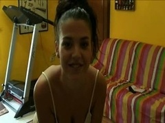 Hidden cam - Spanish babe getting down and dirty a stranger
