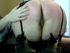 Trinity Pleasures: Punished and moreover Ass Fucked Schoolgirl Slut