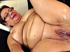 Belle grosse femme bgf, Éjaculation interne, Mamie