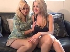 Jerk off Instruction 04 - A couple of BabySitters meow