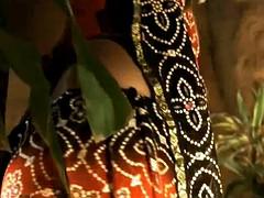 Braunhaarige, Freundin, Indisch, Erotischer film
