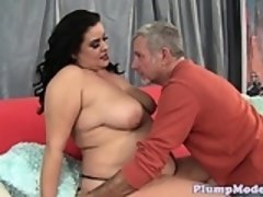 Chubby plumper fucked in many positions