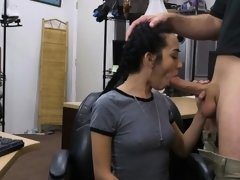 Pawnshop Owners big hard dick finds a tight pussy