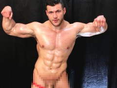 Aggressive Powerful Muscular Domination And Cum