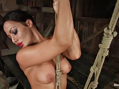 great bondage fun with a kinky mistress