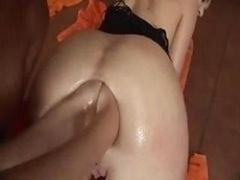 Double pénétration anale, Lesbienne