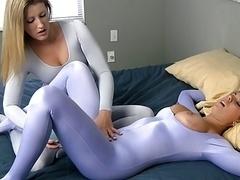 Sexo soft, Spandex, Medias largas, Juguetes
